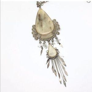 Vintage Jewelry - Vintage BOHO Necklace